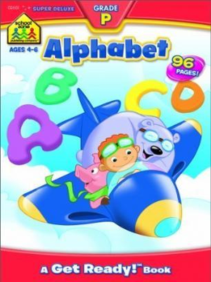 Alphabet Super Deluxe Workbook, Ages 4-6