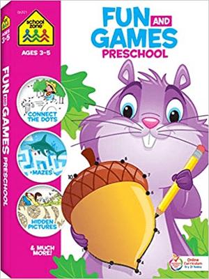 Big Preschool Activity Workbook