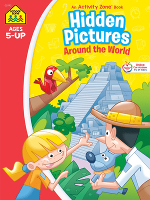 Hidden Pictures Discovery Activity Zone Ages 5-Up