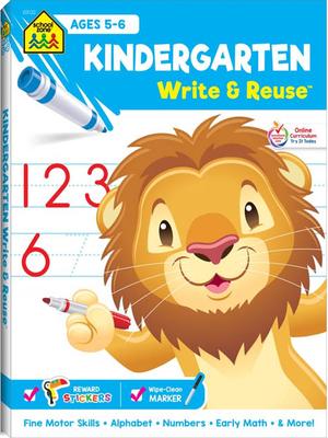 Kindergarten write & reuse workbook NEW