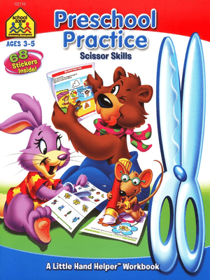 little hand helper cut and paste ages 3-5