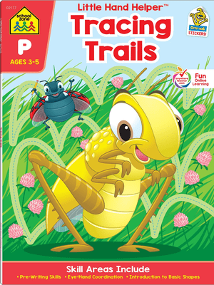 Little hand helper tracing trails ages 3-5