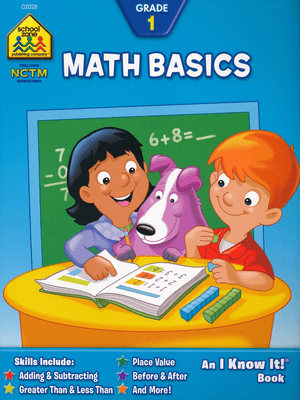 Math Basics Workbook Grade 1