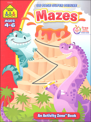 Mazes 96 page super deluxe ages 4-6