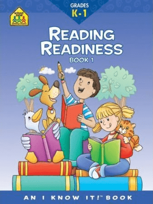 Reading Readiness Workbook Bk 1 Grades K-1