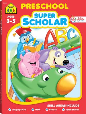 Schoolzone: preschool super scholar