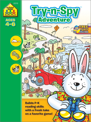 Try-n-Spy Adventure Ages 4-6 WB