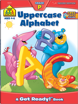 Uppercase Alphabet grade p ages 4-6