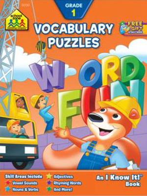 Vocabulary Puzzles Grade 1 Workbook