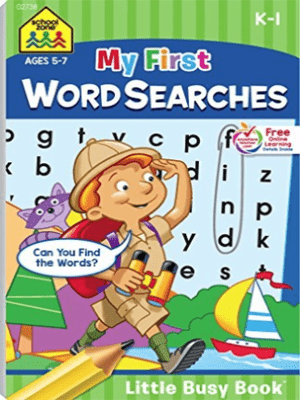 My First Word Searches (Little Busy Book) Ages 5-7