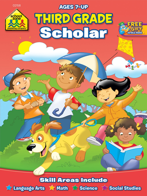 Third Grade Scholar Workbook Ages 7 and Up
