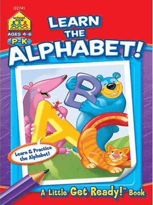 Learn The Alphabet (Little Busy Book) Ages 4-6
