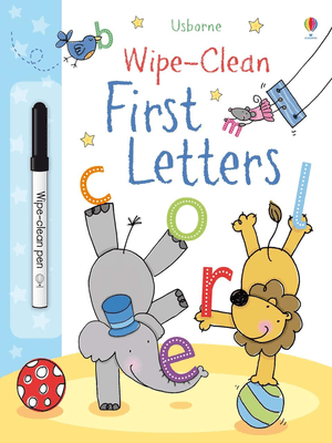 Wipe-clean first letters