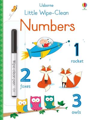 Little wipe-clean numbers