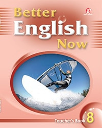 Better English Now Teacher's  Book 08