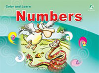 Color and Learn Numbers