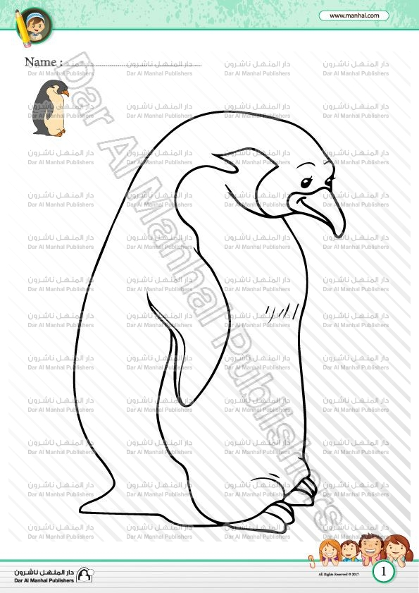 Color the Penguin | Coloring WorkSheets