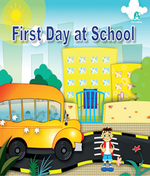 First Day At School | English Stories